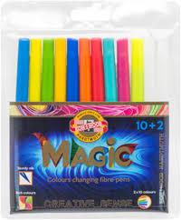 <b>Набор фломастеров KOH</b>-I-<b>NOOR Magic</b>, 10+2 771612/10 TE ...