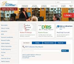 library databases eresources welcome libguides at mesa you can the link for eresources from mcc s library homepage as shown in the image below
