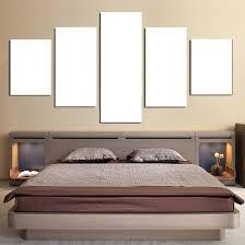 Custom <b>Canvas</b> Prints <b>5</b> Panels <b>Canvas Wall Art</b> Framed Ready to ...