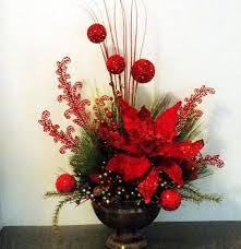 christmas silk flower arrangements fresh cut flowers