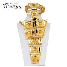 Wholesale <b>MUKUN Dubai Jewelry Sets</b> Bridal Gift Nigerian ...