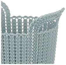 Купить <b>CURVER Корзина круглая Knit</b> XS 23x19x19см голубой по ...