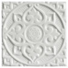 <b>Керамический декор</b> 15x15 см арт. ADEH4016 Relieve Mandala ...