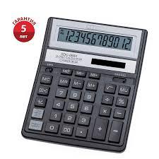 <b>Калькулятор настольный Citizen SDC-888XBK</b>, 12 разр., двойное ...