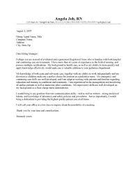 Gallery of Cover Letter For Nursing Student   Free Letter Sample     My Document Blog