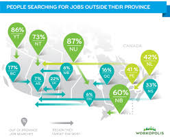 these provinces are most popular canadian job seekers