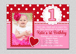 st birthday invitations girl templates ideas 1st birthday invitations for baby girl middot valentines birthday invitation 1st birthday