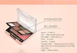 <b>O</b>.<b>TWO</b>.<b>O</b> Palette Eyeshadow Highlighter Glitter Blusher Face ...