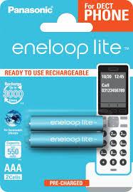 "<b>Аккумулятор Panasonic</b> ""Eneloop"", тип <b>AAA</b>, DECT Lite Ni-MH 550 ..."