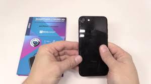 Как правильно наклеить защитное <b>стекло</b> на телефон - YouTube