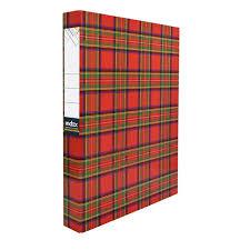 <b>Папка</b>-<b>файл</b> ламинированная на <b>2</b>-х <b>кольцах</b>, шотландка | Купить ...