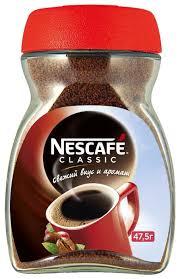 nescafe classic кофе растворимый гранулированный 50 г