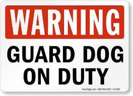 Image result for guard dog