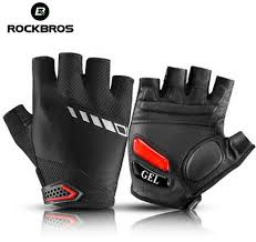 ROCKBROS Mens <b>Cycling Gloves Half</b> Finger Womens Summer ...
