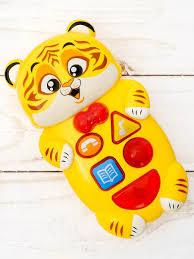 """<b>Музыкальная развивающая игрушка</b> """"Тигрёнок"""" ZABIAKA ..."""