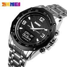 <b>SKMEI Men Quartz</b> Analog & <b>Digital</b> Round Wristwatches   eBay