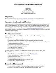 automotive technician resume skills resume templates automotive technician resume skills