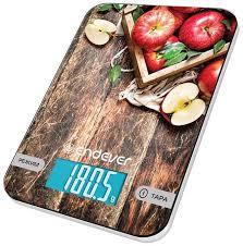 Купить <b>Весы кухонные ENDEVER</b> Chief 507, рисунок/яблоко в ...