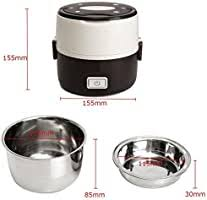 <b>Electric Lunch</b> Box, Janolia <b>Portable</b> Food Lunch Heater, Rice ...