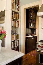 kitchen book shelves