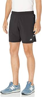 New Balance Men's Q Speed Run Crew Short ... - Amazon.com