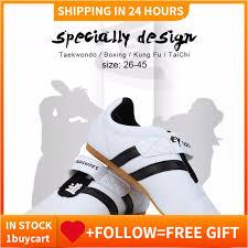 <b>Taekwondo</b> Sport Boxing Kung fu TaiChi Lightweight Shoes for ...