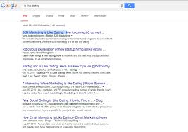 if job seeking is like dating can recruiting apps be like tinder google results screenshot