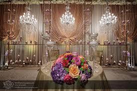decor design hilton: design gallery traditional indian wedding reception floral decor at the hilton columbus  x