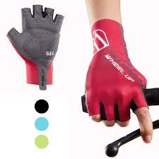 Hikenture <b>Half Finger Cycling Gloves</b> for Men and Women Padded ...