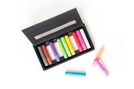 <b>New</b>! <b>Eco</b>-<b>Friendly</b> Rainbow-<b>Colored</b> Chalk • The Type Set Co.
