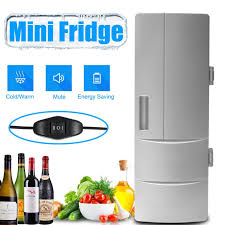 <b>USB Car Portable</b> Mini Refrigerator Electric Cooler & Warmer Juice ...