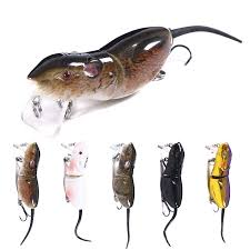 Hengjia <b>1pcs</b> Jointed Minnow Mouse Fishing Lure <b>Bionic</b> Catfish ...