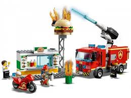 <b>Конструктор Lego City</b> 60214 <b>Fire</b> Пожар в бургер-кафе ...