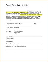 7 credit authorization form authorization letter the credit card authorization form and customize it your