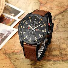 <b>CURREN 8250 Casual Men</b> Quartz Watch | Watches for men unique ...