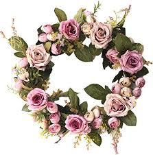 LONDADI <b>Christmas Decorations</b>, 35cm <b>Flower</b> Rose <b>Merry</b> ...