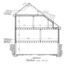 Free Saltbox House Plans   Saltbox House Floor PlansSaltbox House Floor Plan   nd Floor  Saltbox Home Cross Section