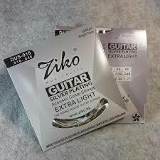 <b>Ziko DUS</b>-010 High Grade Silver Plating <b>Acoustic</b> Guitar Strings ...