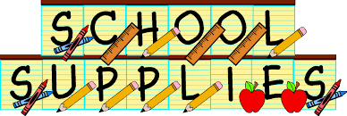 Image result for school supply clip art