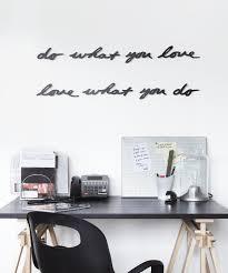 iron wall decor u love: amazoncom umbra mantra wall decor phrase do what you love home amp kitchen