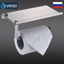 EVERSO клей <b>держатель</b> туалетной бумаги с полка, туалетный ...