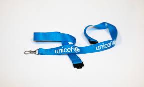 UNICEF <b>ID card holder</b>-<b>lanyard</b>/BAG-50