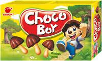<b>Печенье ORION Choco</b> Boy бисквит с шоколадом – купить в сети ...