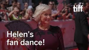 Helen Mirren Cools Off   TIFF 2017 - YouTube