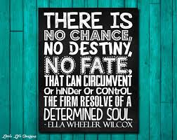 Determination Inspirational Wall Art by LittleLifeDesigns on Etsy via Relatably.com