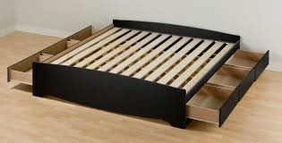 platform bed no headboard  cool ideas for platform bed without