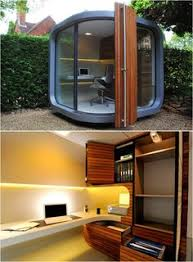 its like the modern mans bolt hole shed no longer a cool outdoor backyard office pod 4