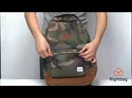 Стильный <b>рюкзак Herschel Heritage Mid-Volume</b> - видеообзор от ...