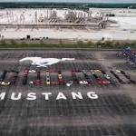 That's a lot of horsepower: Ford builds 10-millionth Mustang