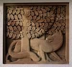 sculptural relief